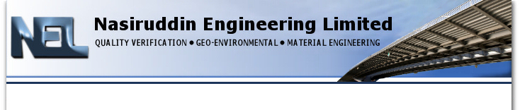 Nasiruddin Engineering Limited Quality Verification Geo Environmental Material Engineering